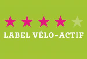 label vélo actif